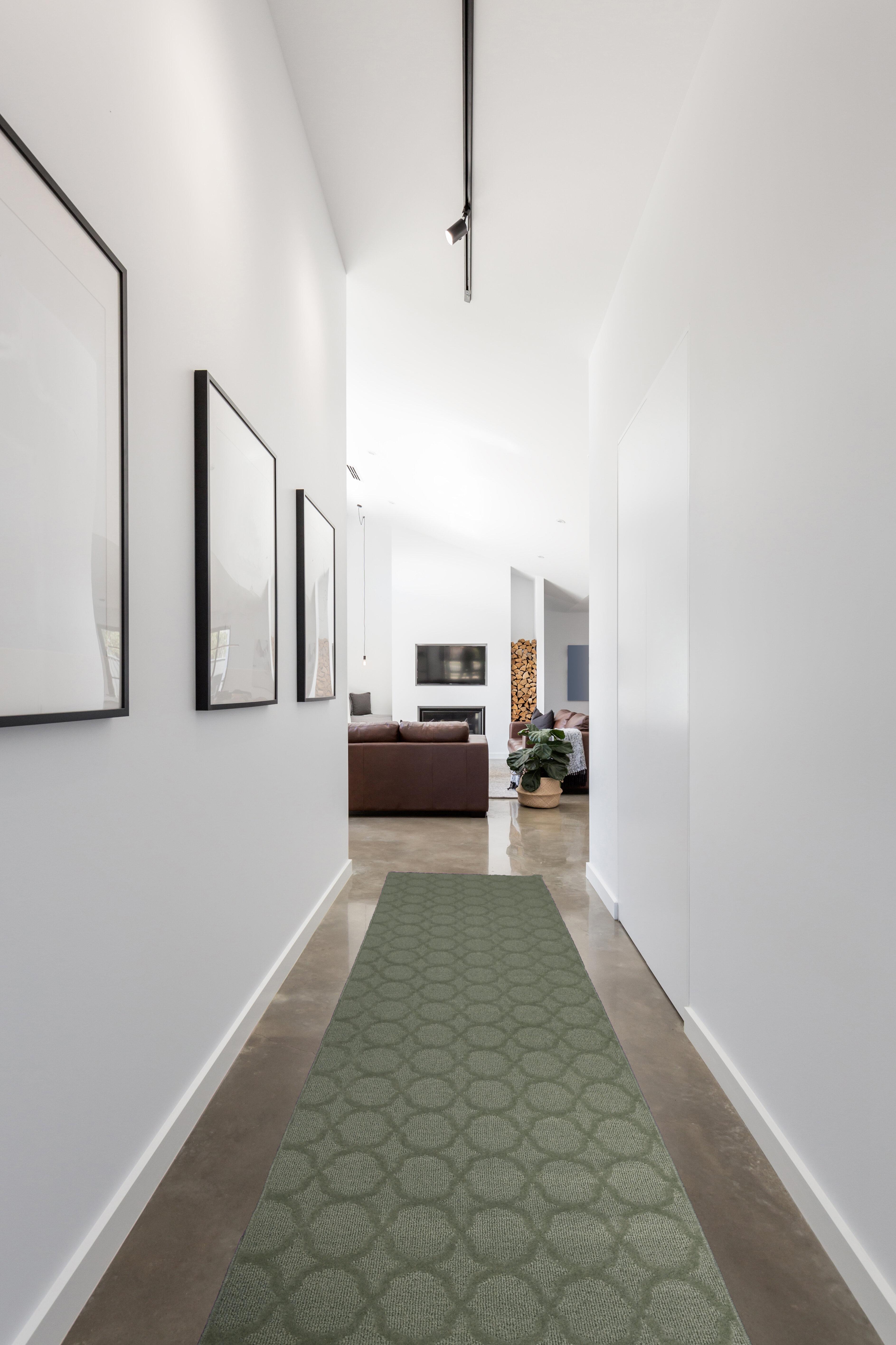 Charlton Home Southington Geometric Tufted Green Area Rug Wayfair
