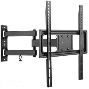 Savings Full Motion Tilt and Swivel Articulating Arm Wall Mount for 32-55 Flat Panel Screens By GForce