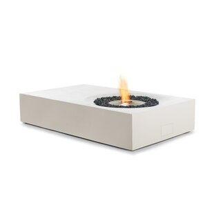 Equinox Concrete Bio-ethanol Fuel Fire Pit Table