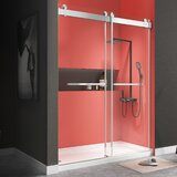 Soft-Closing System 66 - 72 W x 76 H Double Sliding Frameless Shower Door by GETPRO
