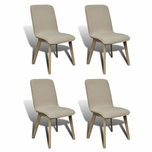 Parkinson Upholstered Dining Chair (Set of 4) Gracie Oaks