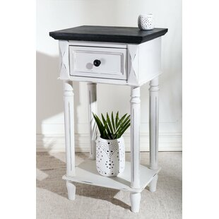 Affordable Iker Ashbury 2-Tier End Table with Storage By August Grove