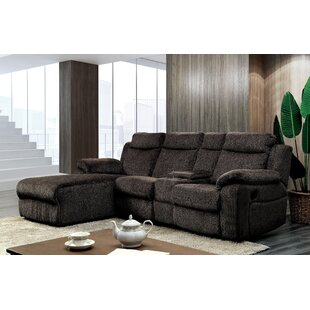 Shop Burnam Reclining Sectional by Red Barrel Studio