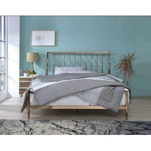 Cheever Metal Queen Panel Bed
