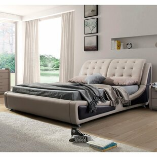 Sundown Upholstered Platform Bed