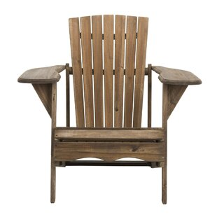 Best Willingboro Solid Wood Adirondack Chair By Gracie Oaks Chairs