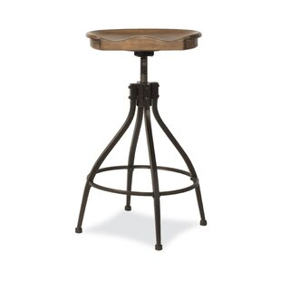 Mcmahan Worland Adjustable Height Bar Stool by Williston Forge