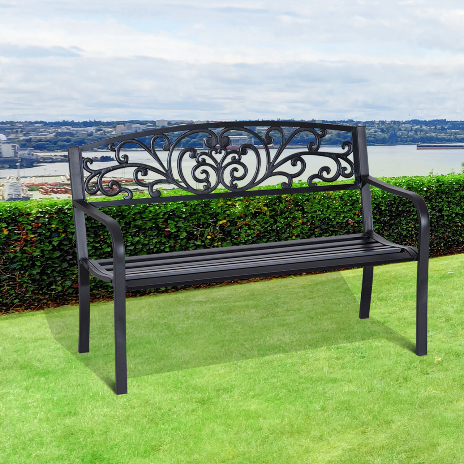 Picture of: Outdoor Benches You Ll Love In 2020 Wayfair