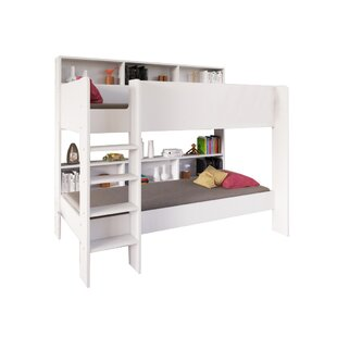 Carey Single Bunk Bed With Shelves By Isabelle & Max