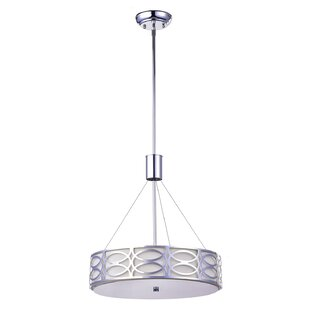 House of Hampton Euan 5-Light Drum Pendant