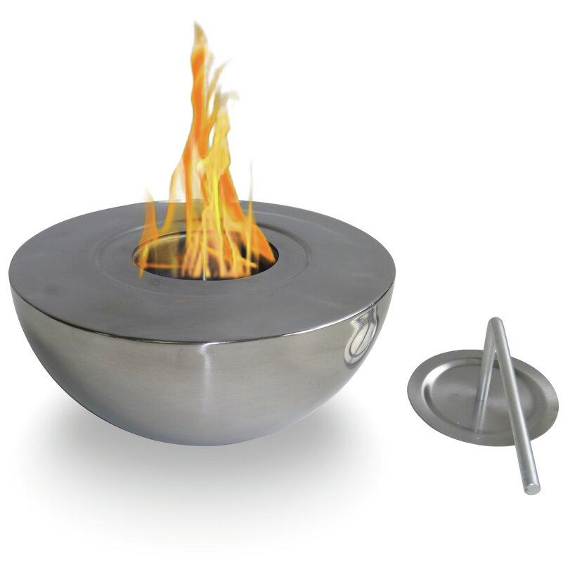 Sutton Indoor/Outdoor Gel Fuel Tabletop Fireplace & Reviews ...