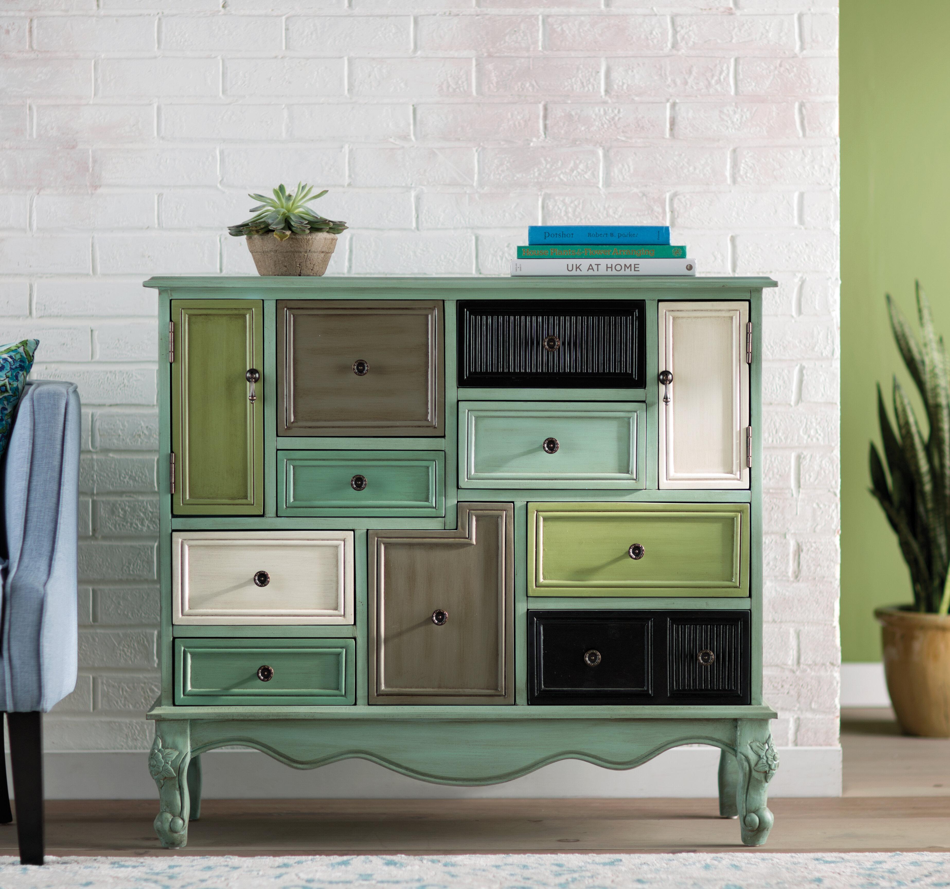 Homestown 9 Drawer 2 Door Accent Cabinet Reviews Birch Lane