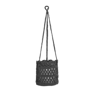 Reviews Mode Crochet Hanging Fabric Basket (Set of 2) By Heritage Lace