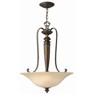 Dunhill 3-Light Bowl Pendant by Hinkley Lighting