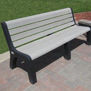 Sierra Plastic Park Bench