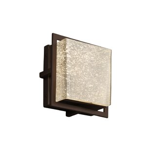Brayden Studio Luzerne LED Outdoor Flush Mount