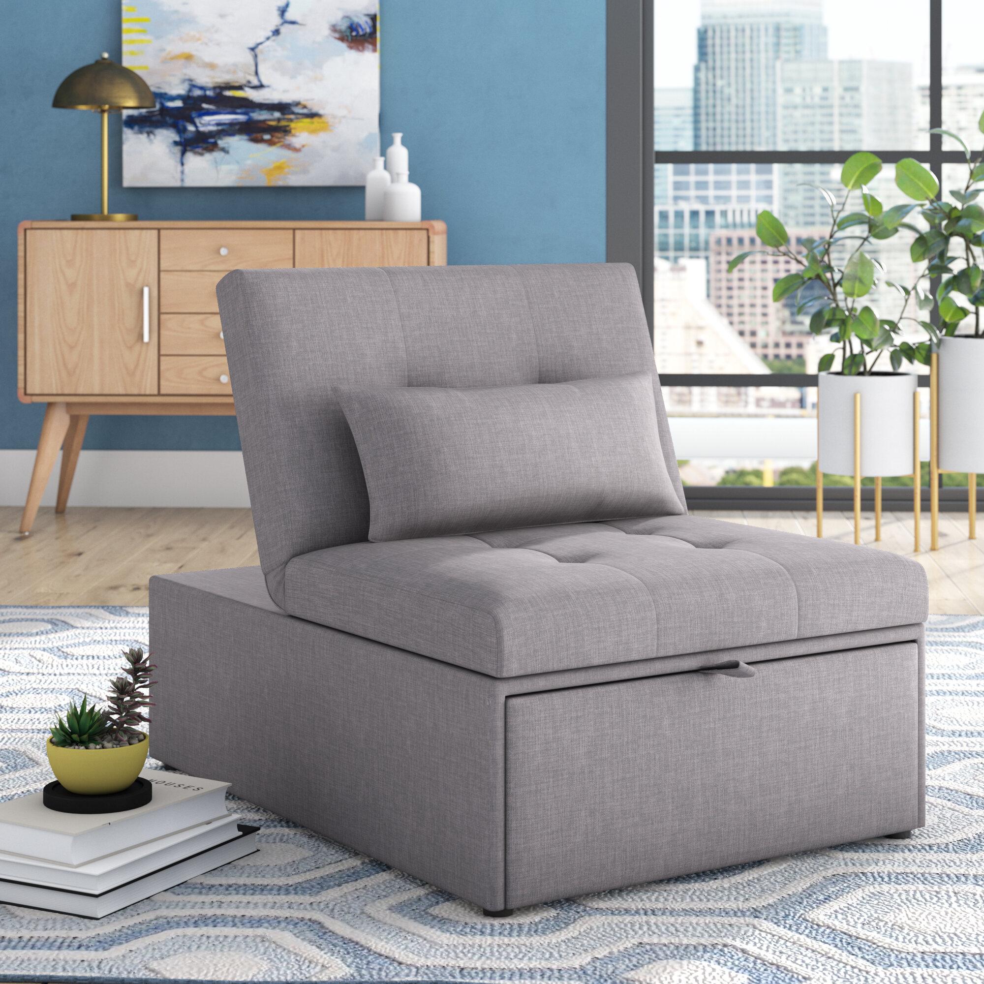 Grovelane Aaronsburg Convertible Chair Reviews Wayfair