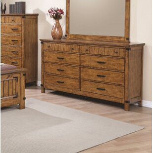 Hensley 8 Drawer Double Dresser by Loon Peak