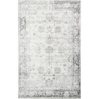 Deals on Mistana Brandt Floral Beige/Gray Rug 2-ft 2-in x 3-ft