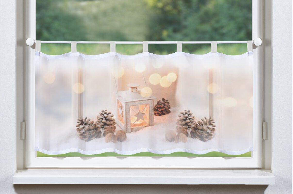 home wohnideen schiebegardine laterne mit schlaufen transparent. Black Bedroom Furniture Sets. Home Design Ideas