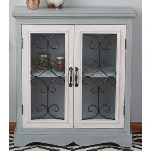 Compare prices Fanning 2 Door Accent Cabinet ByAugust Grove