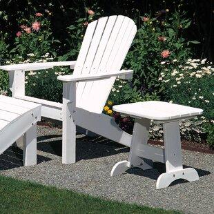 Seaside Casual Adirondack Side Table