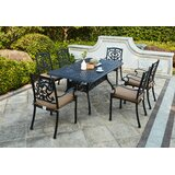 Batista 7 Piece Dining Set with Cushions
