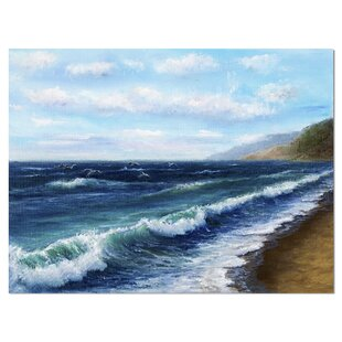 Ocean Wave Canvas Art Wayfair