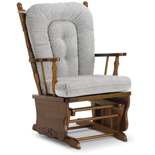 Eugenia Wooden Rocker Glider