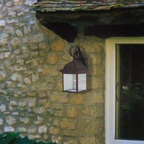 Millwood Pines Zechariah 1-Light Outdoor Wall Lantern