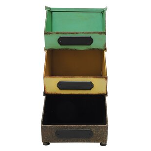 Online Reviews 3 Piece Stacking Bin Set By Laurel Foundry Modern Farmhouse