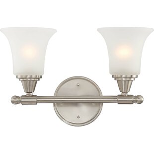 Affordable Reynal 2-Light Vanity Light By Charlton Home
