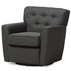 Kleopatros Swivel Lounge Chair by Latitude Run