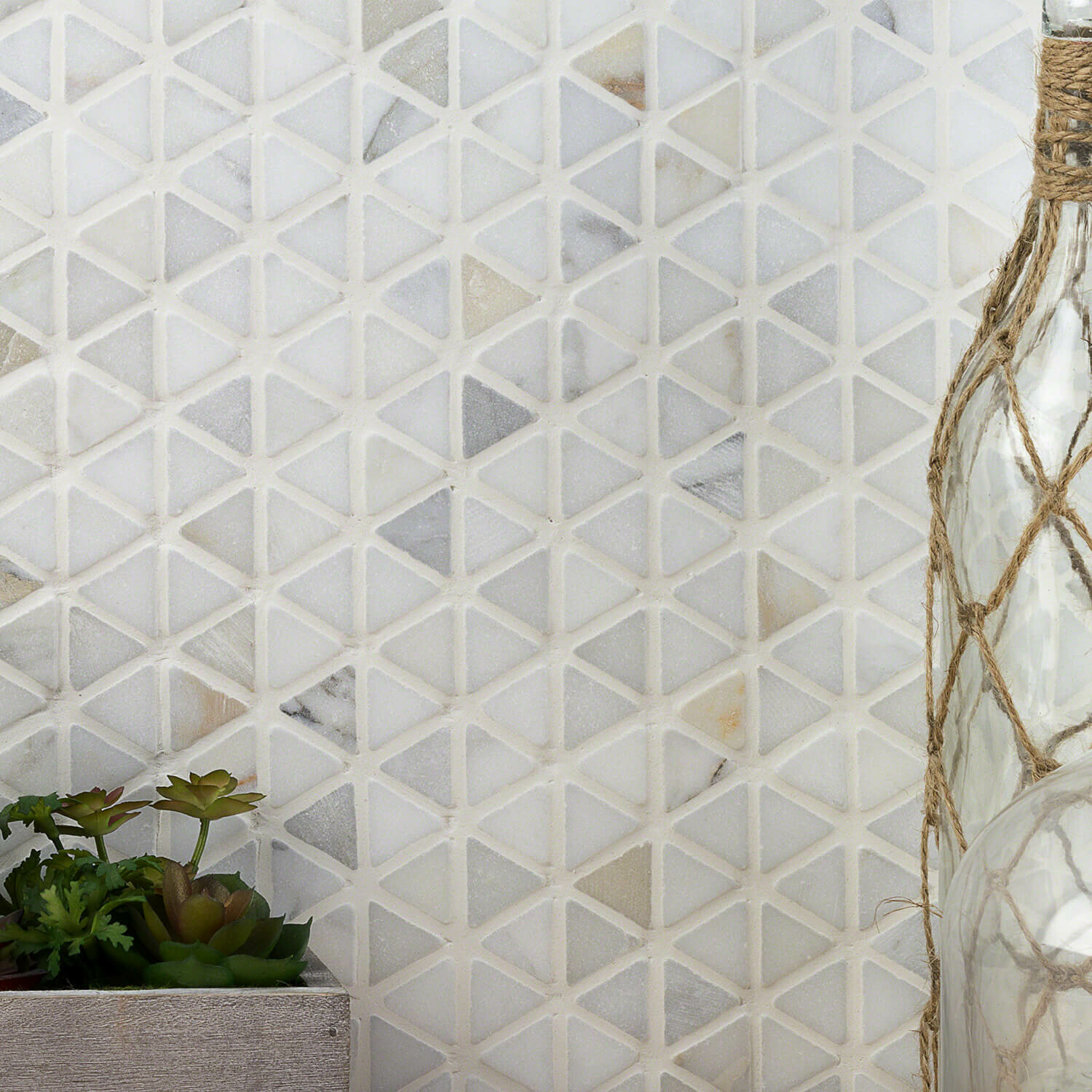 Ivy Hill Tile Calacatta Marble Mosaic Tile Reviews