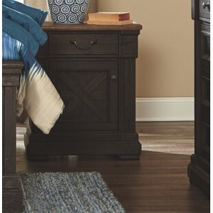 Edmore Door 3 Drawer Nightstand by Canora Grey