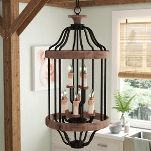 Laurel Foundry Modern Farmhouse Elisabetta 9-Light Foyer Pendant