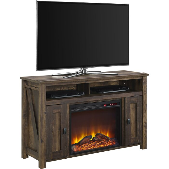 Incredible Whittier Tv Stand For Tvs Up To 50 With Electric Fireplace Download Free Architecture Designs Estepponolmadebymaigaardcom