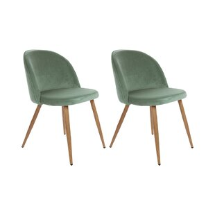 Deven Upholstered Dining Chair (Set Of 2) By George Oliver