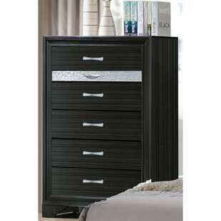 Valdez Two Tone Wooden 6 Drawer Chest