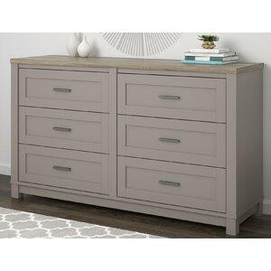Callowhill 6 Drawer Dresser