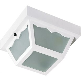 Pothier Outdoor Flush Mount by August Grove