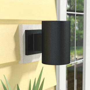 Read Reviews Zahara 1-Light Outdoor Sconce By Wade Logan