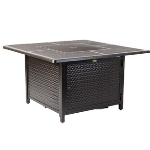 Walkers Aluminum Propane Fire Pit Table