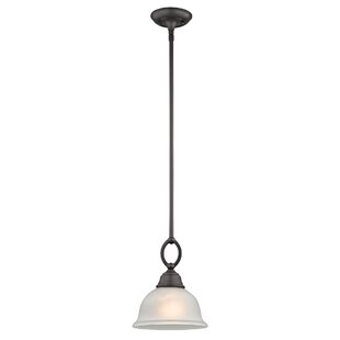 Inexpensive Halvorsen 1-Light Bowl Pendant By Darby Home Co