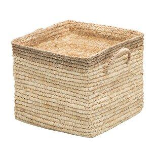 Attrayant Square Wicker Storage Basket