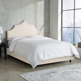 Suttons Notched Upholstered Standard Bed