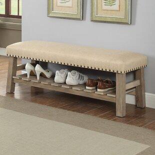 Gracie Oaks Piyush Upholstered Storage Bench