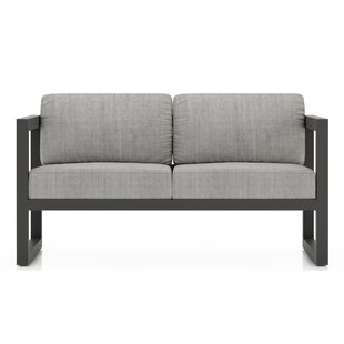 Remi Loveseat with Sunbrella Cushions by 17 Stories