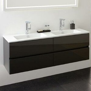 black vanity units for bathroom. Limited Edition 60cm Wall Mounted Vanity Unit Bathroom Units  Wayfair co uk