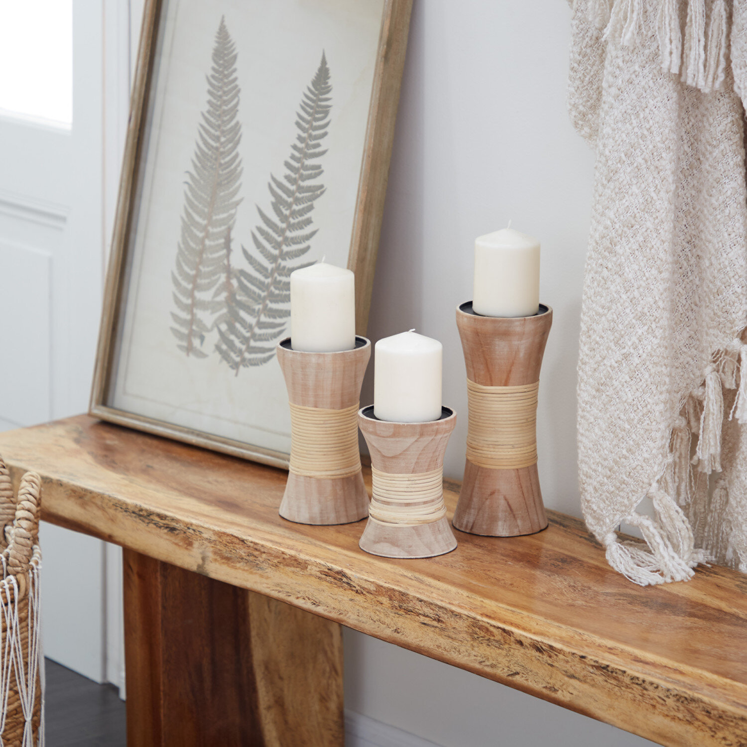 Wood Candle Holders Joss Main